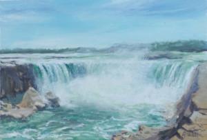 """""""Niagara Falls"""" by Aiwen Chen"""